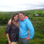 edel-and-taryn-in-the-burren