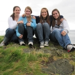 mary-grace-cara-and-hannah-on-carrick-a-rede