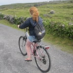 maureen-riding-her-bike-on-the-aran-islands